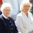 Queen Elizabeth and the Duchess of Cornwall attend the first day of the Royal Windsor Horse Show; 13-05-2015