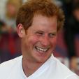 Prince Harry laughs during a game of soccer in Auckland; 16-05-2015