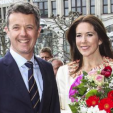 Crown Prince Frederik and Crown Princess Mary on their visit day in Germany; 19-05-2015