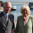 The Prince of Wales and the Duchess of Cornwall in Mullaghmore, Ireland; 20-05-2015