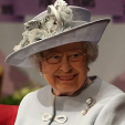 Queen Elizabeth at the centenary celebrations of the Women's Institute; 04-06-2015