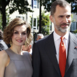 Queen Letizia and King Felipe in France; 04-06-2015