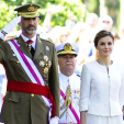 King Felipe and Queen Letizia attend the Armed Forces Day parade in Madrid; 06-06-2015