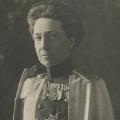 Queen Victoria in the uniform of her Prussian regiment