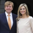 King Willem-Alexander and Queen Maxima at a dinner at the Dutch Ambassador's residence in Washington, D.C.; 31-05-2015