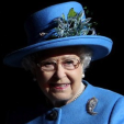 Queen Elizabeth at the presentation of The Royal Welsh's new colours in Cardiff; 11-06-2015