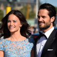 Sofia Hellqvist and Prince Carl Philip arrive for their pre-wedding dinner; 12-06-2015