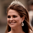 Princess Madeleine attends the wedding of her brother Prince Carl Philip and Sofia Hellqvist; 13-06-2015