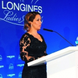 Princess Haya during her acceptance speech at the Longines Ladies Award; 15-06-2015