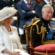 Charles and Camilla attend the Battle of Waterloo 200th anniversary service; 18-06-2015
