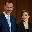 King Felipe and Queen Letizia at the Princess of Girona Foundation awards ceremony; 25-06-2015