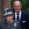 Queen Elizabeth and Prince Philip at Bergen-Belsen concentration camp; 26-06-2015
