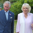 The Prince of Wales and the Duchess of Cornwall at the rickshaw auction; 30-06-2015