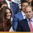 The Duke and Duchess of Cambridge attend Wimbledon 2015; 08-07-2015