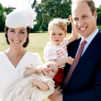 A portrait taken to mark Princess Charlotte's christening; 05-07-2015