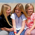 Princesses Amalia, Alexia and Ariane during the photo session in Wassenaar; 10-07-2015