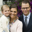 Princess Estelle, Crown Princess Victoria and Prince Daniel celebrate Victoriadagen in Oland; 14-07-2015