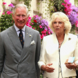 The Prince of Wales and the Duchess of Cornwall during the first day of their visit to Cornwall; 20-07-2015