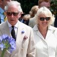 Prince Charles and the Duchess of Cornwall during their visit to Cornwall; 21-07-2015
