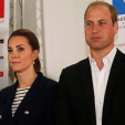 The Duke and Duchess of Cambridge in Portsmouth; 26-07-2015