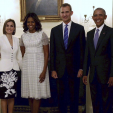 The King and Queen with President and First Lady Obama at the White House; 15-09-2015