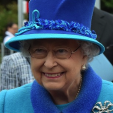 Queen Elizabeth opens a railway line in Scotland on the day she became Britain's longest reigning monarch; 09-09-2015