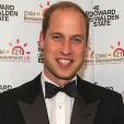 The Duke of Cambridge at the gala marking Child Bereavement UK's 21st birthday; 15-10-2015