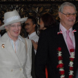Queen Margrethe and Prince Henrik arrive in Indonesia ahead of their state visit to the nation; 21-10-2015