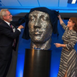 Princess Eugenie unveils a sculpture during the official opening of Newcastle University's new London campus; 21-10-2015