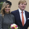 The Dutch King and Queen during their visit to Limburg; 08-10-2015