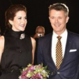 Princess Mary and Prince Frederik arrive for the 2015 Crown Prince Couple's Culture Prize; 03-10-2015