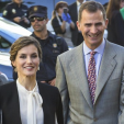 Queen Letizia and King Felipe at the innovation and design awards; 05-11-2015
