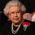 Queen Elizabeth at the Festival of Remembrance; 07-11-2015