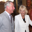 Prince Charles and Camilla during their visit to a winery in the Barossa Valley; 10-11-2015