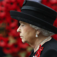 Queen Elizabeth attends the Remembrance Day service at the Cenotaph; 08-11-2015