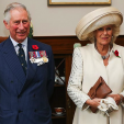 The Prince of Wales and the Duchess of Cornwall on their first day in New Zealand; 04-11-2015