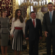 The Kings and Queens of Spain and Jordan; 20-11-2015