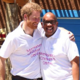 Prince Harry and Prince Seeiso during the opening of the 'Mamohato Children's Centre; 26-11-2015