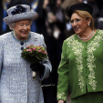 Queen Elizabeth and the President of Malta; 26-11-2015