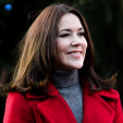 Crown Princess Mary at the tree lighting; 29-11-2015