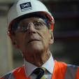 The Duke of Edinburgh during a tour of the Crossrail project construction site; 04-11-2015