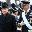 King Carl Gustaf and the President of Tunisia; 04-11-2015