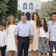 The Jordanian Royal Family's New Year card for 2016