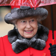 Queen Elizabeth attends church on Christmas Day at Sandringham; 25-12-2015