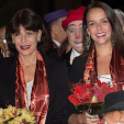 Princess Stephanie and Pauline Ducret at the opening night of the 40th International Circus Festival of Monte-Carlo; 14-01-2016