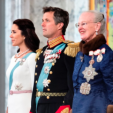 Crown Princess Mary, Crown Prince Frederik and Queen Margrethe at the New Year's Court for the Diplomatic Corps; 05-01-2015