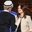 Princess Sofia hands out traditional brooches at the Sophiahemmet graduation ceremony; 21-01-2016