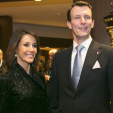 Princess Marie and Prince Joachim attend a dinner to celebrate the 100th anniversary of the Danish-Icelandic Society in Reykjavik; 21-01-2016