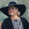 Queen Maxima of the Netherlands arrives for the Horticultural Entrepreneur Awards; 06-01-2015