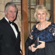 Charles and Camilla arrive for the British Asian Trust gala; 02-02-2016